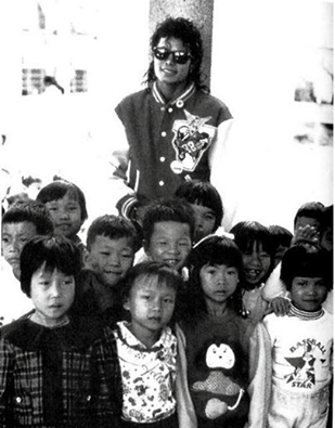 children with michael two